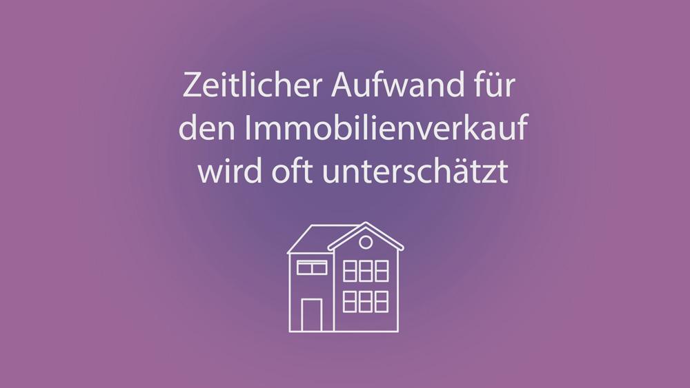 sync 2005 Zeitaufwand Immobilienverkauf klein