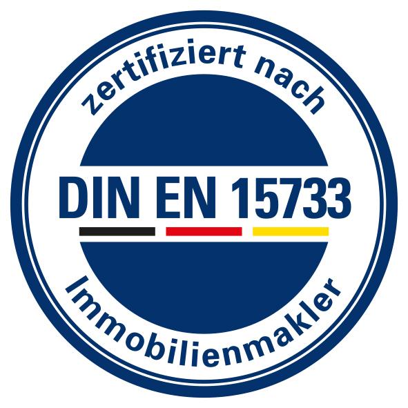 DIA Zert Logo DIN EN 15733 weia